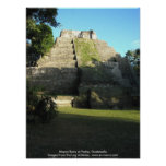 Mayan Ruins at Yaxha, Guatemala Print