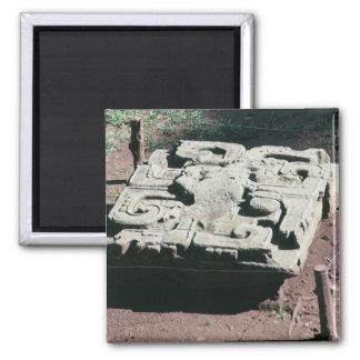 Mayan Ruins Copan Honduras Photo Designed Magnet