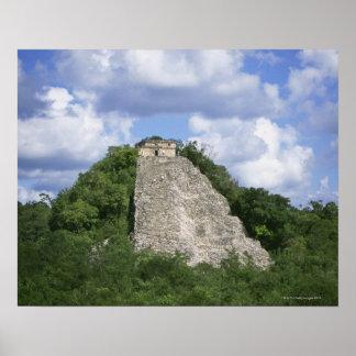 Mayan ruins of Coba, Yucatan peninsula, Mexico Poster