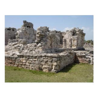 Mayan Ruins, Tulum, Mexico Postcard