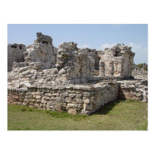 Mayan Ruins, Tulum, Mexico Post Card