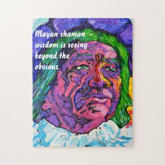 Mayan shaman - Amazing Mexico Puzzle