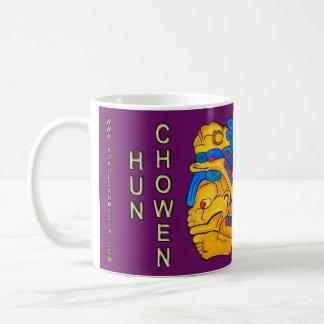 MAYAN SPIRIT HUN CHOWEN- PURPLE- MAYAN RIVIERA COFFEE MUG