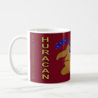 MAYAN SPIRIT HURACAN- MIDNIGHT RED- MAYAN GOLD... COFFEE MUG