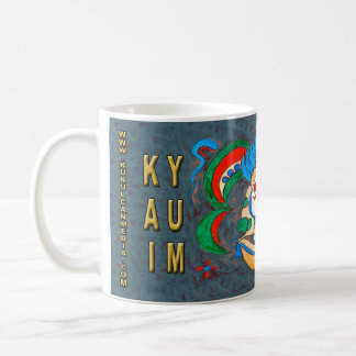 MAYAN SPIRIT KAI YUM- GREEN- CANCUN MEXICO COFFEE MUG