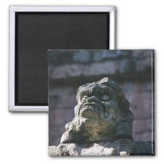 Mayan Stone Carved Statue Block Copan Honduras Magnet