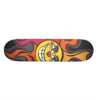 Mayan sun graphic skateboard