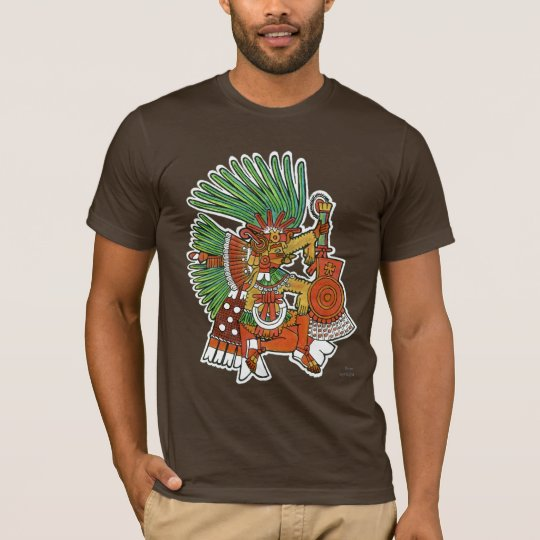 Mayan Tezcalipoca God T-Shirt