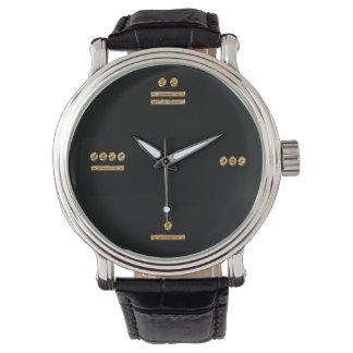 Mayan Time - gold/dark Watch