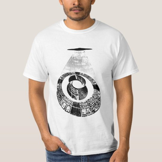 Mayan Time Wheel Crop Circle T-Shirt
