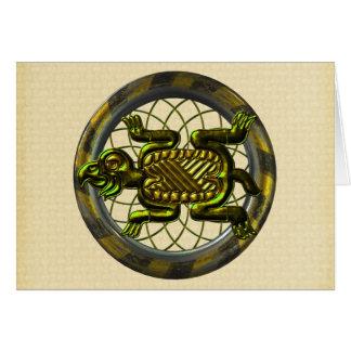 Mayan Turtle Card