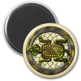 Mayan Turtle Magnet
