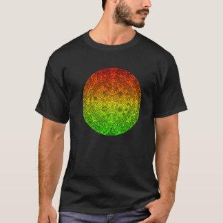 Mayan Wheel by Jolly Rastafari ~ Speak No Evil T-Shirt