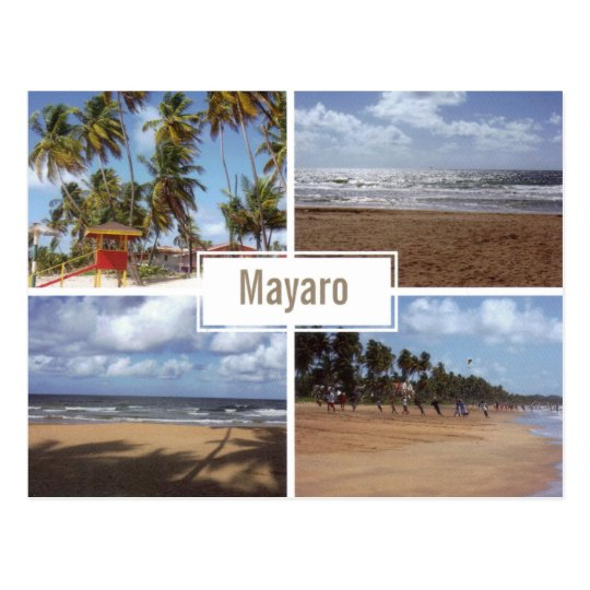 Mayaro Beach Collage (Multi-view) Postcard