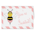MayBee Bumble Bee Baby Shower Invitation