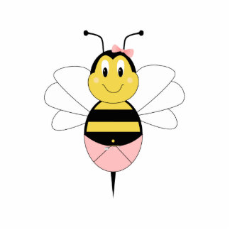 MayBee Bumble Bee Ornament Acrylic Cut Out