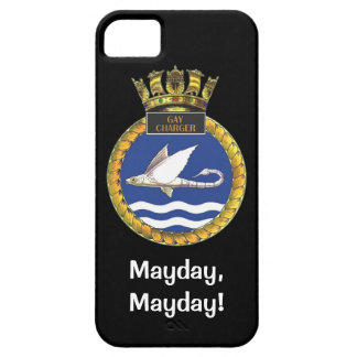 Mayday, Mayday, HMS Gay charger iPhone 5 Case