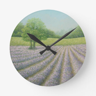 Mayfield Lavender in Bloom, Carshalton Clock