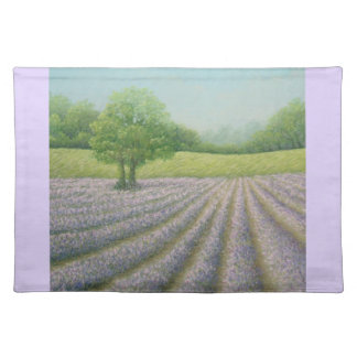 Mayfield Lavender in Bloom, Carshalton Placemat