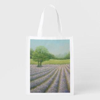 Mayfield Lavender in Bloom Carshalton Reusable Bag