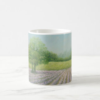 Mayfield Lavender in Bloom Classic White Mug