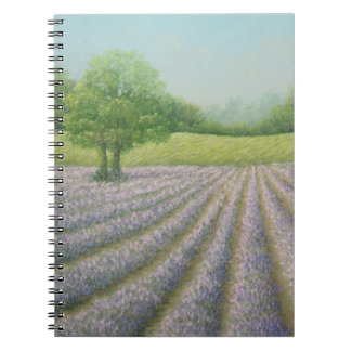 Mayfield Lavender in Bloom Notebook 80 pages