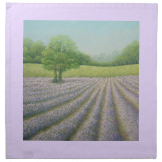 Mayfield Lavender in Bloom, Pastel Cloth Napkins