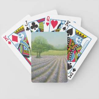 Mayfield Lavender in Bloom Pastel Playing Cards