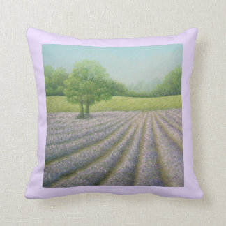 Mayfield Lavender in Bloom Polyester Cushion