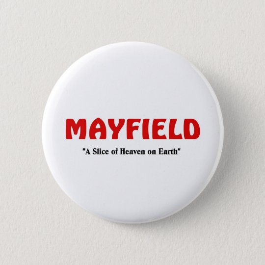 Mayfield, Utah 6 Cm Round Badge