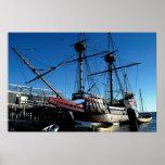 Mayflower II, National Historic Landmark, Plymouth Posters