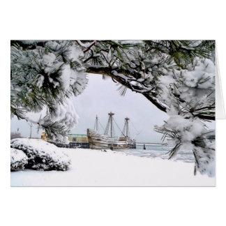 Mayflower II, Plymouth, MA Greeting Card