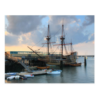 Mayflower II Plymouth Postcard