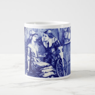 Mayflower Lovers John Alden & Patricia Mullins Large Coffee Mug