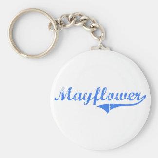 Mayflower Massachusetts Classic Design Key Chains