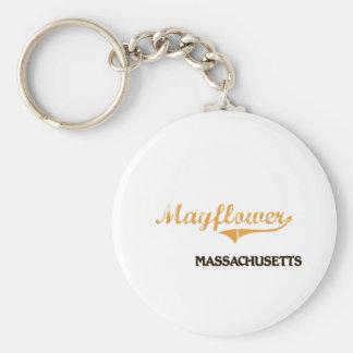Mayflower Massachusetts Classic Key Chain