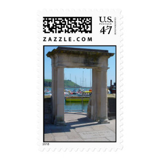 Mayflower Steps Arch, Barbican, Plymouth Stamp