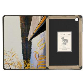 Mayo Lake Boat Dock iPad Mini Retina Covers
