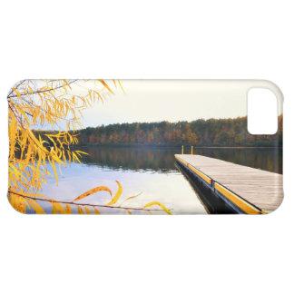 Mayo Lake Boat Dock iphone 5 Case-Mate iPhone 5C Case