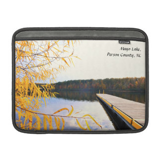 Mayo Lake  Boat Dock MacBook Air Sleeve