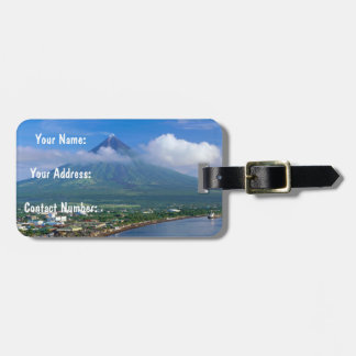 Mayon Volcano, Philippines Luggage Tag