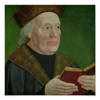 Mayor Hermann Langenbeck, c.1515 Poster