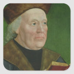 Mayor Hermann Langenbeck, c.1515 Square Sticker