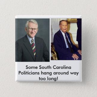 mayor, hh, Joe lovesHALLOWEEN! - Customized 15 Cm Square Badge