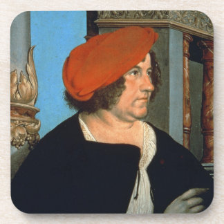 Mayor Jakob Meyer zum Hasen, 1516 (tempera on lime Beverage Coasters