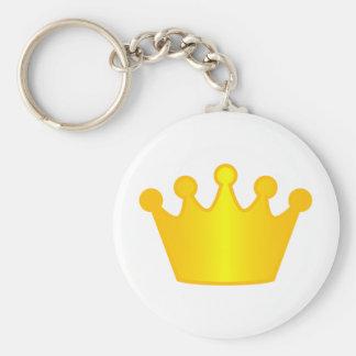 Mayor of ... basic round button key ring