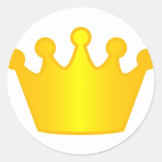 Mayor of ... round sticker