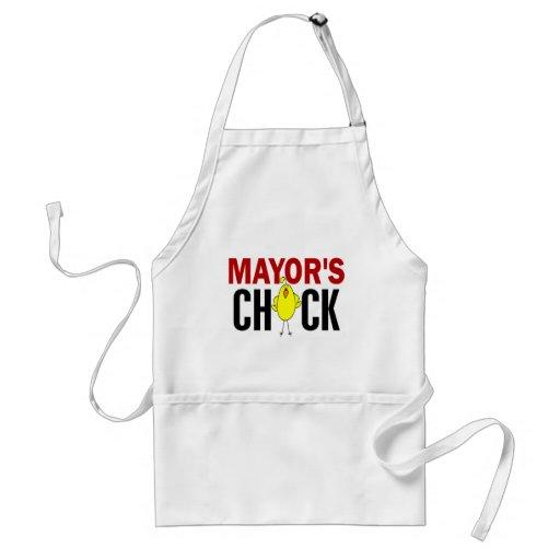 MAYOR'S CHICK APRONS