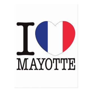 Mayotte Love v2 Postcard