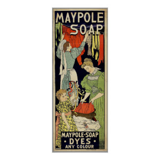 Maypole Soap Poster